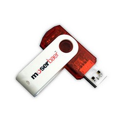 Moser Baer 16GB Pendrive at Rs.535