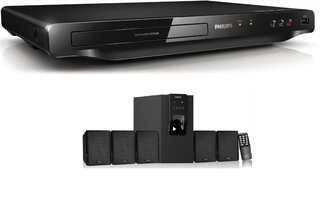 Philips DVD Player & Speaker at Rs.4499