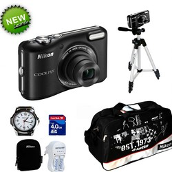 Combo Of Nikon Coolpix L28 with Tripod + Watch at Rs.5920