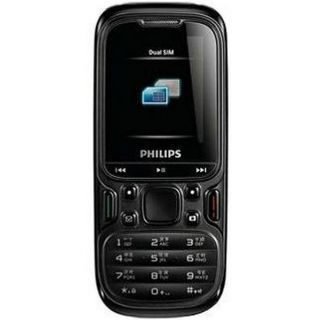 Philips E122 Dual Sim Mobile at Rs.990