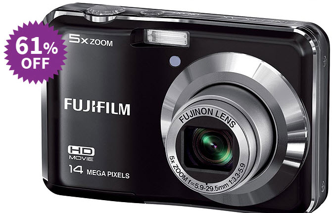 Fujifilm FinePix AX500 Camera Combo at Rs. 3999