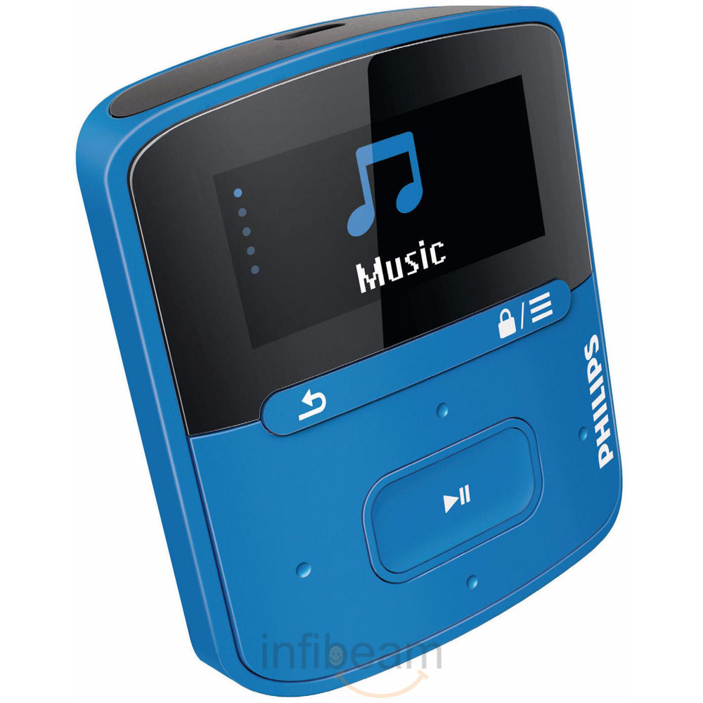 Philips Raga 4GB MP3 at Rs.2625