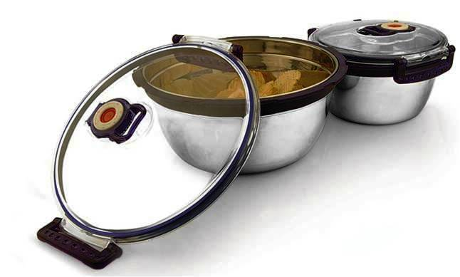 Jvl vacuum Lid Bowl at Rs.228