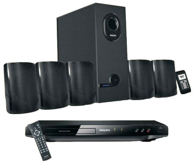 Philips DVD Player & Speaker Combo at Rs.4999