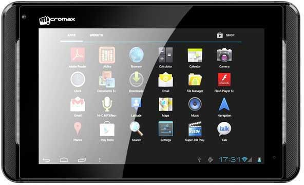 Micromax Funbook Tablet at Rs.4649