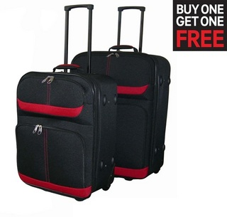 Sonashi Trolley Bag (Buy 1 Get 1 Free) at Rs.2400