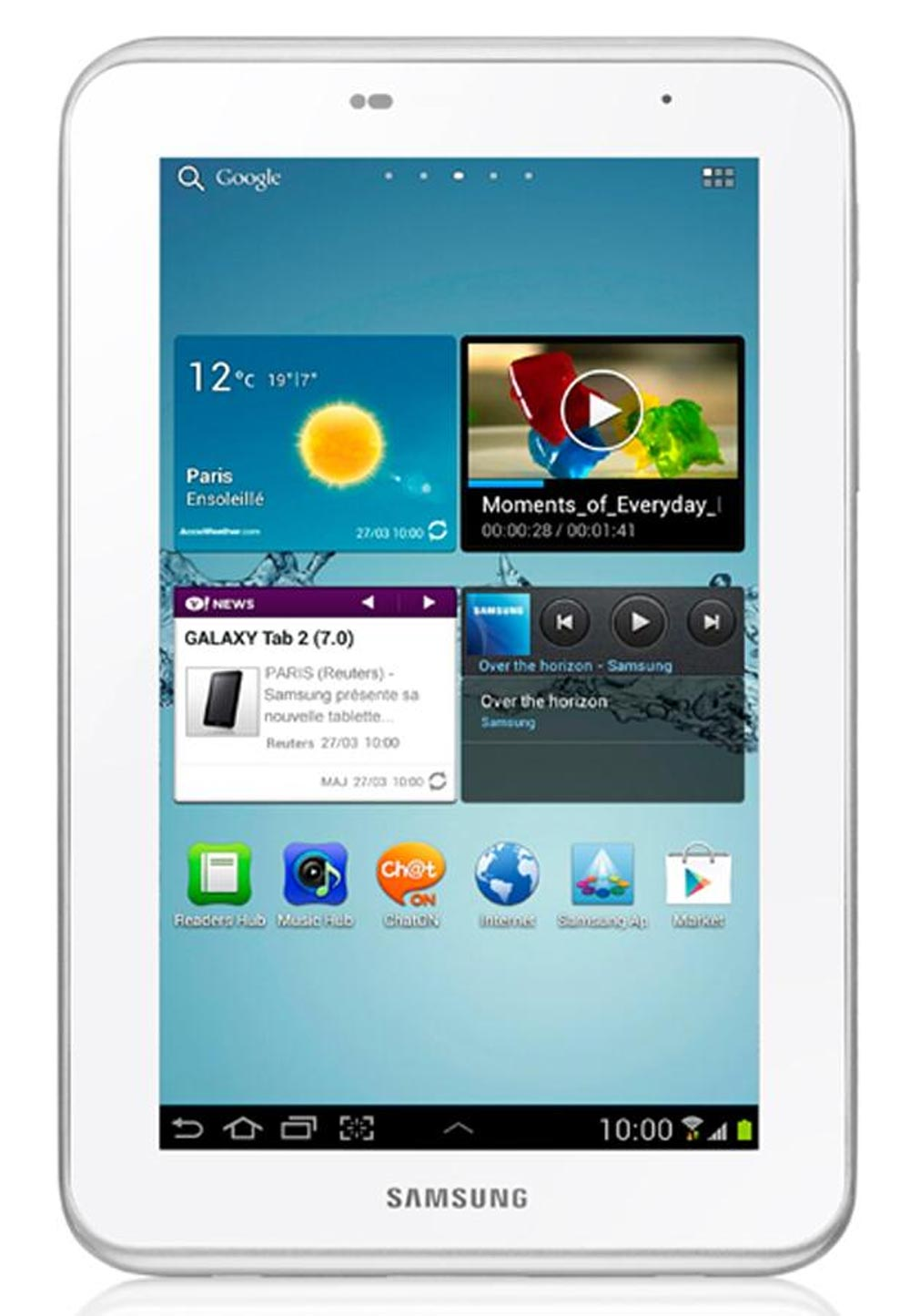 Samsung Galaxy Tablet at Rs.9799