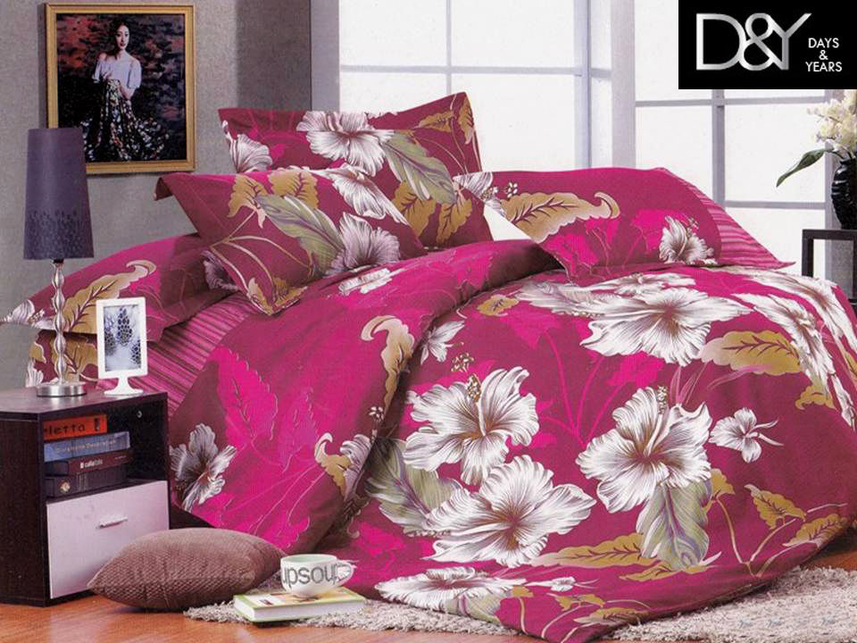 Heavy Floral Bedsheet at Rs.399