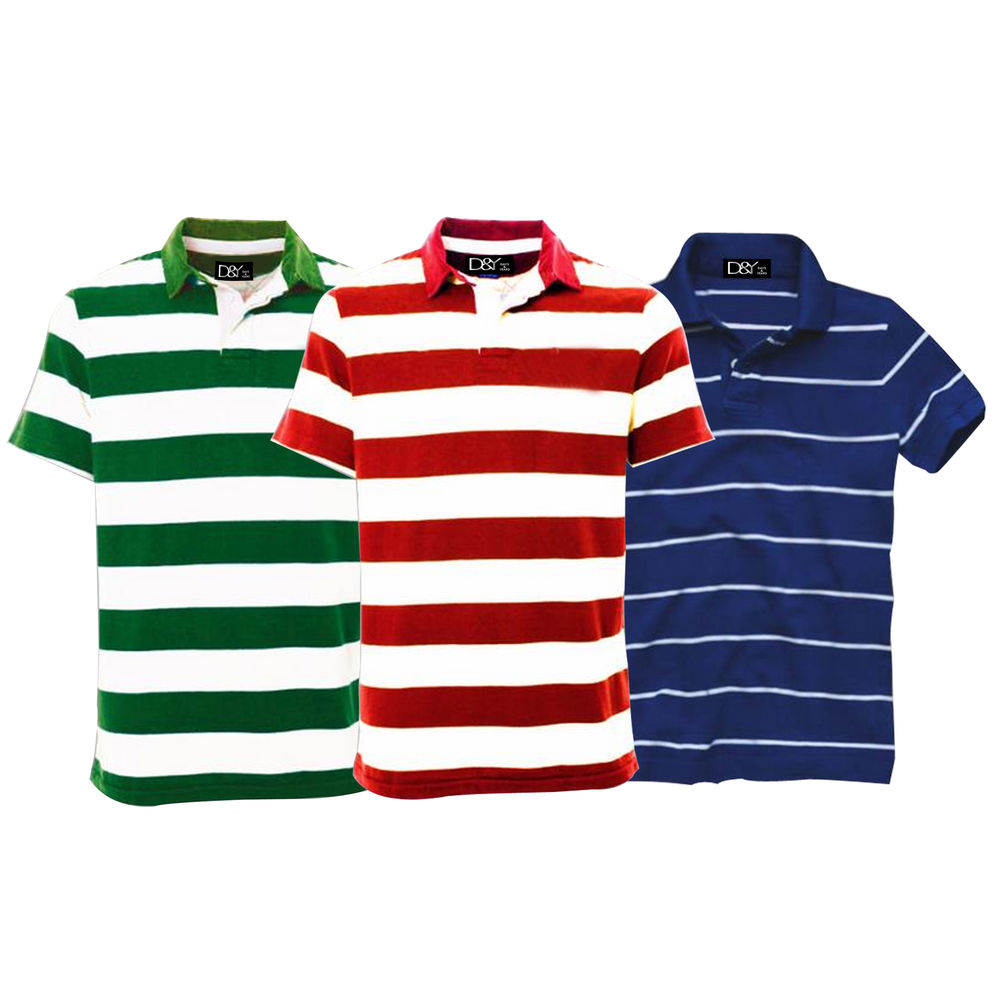 D&Y three polo t-shirts at Rs.849