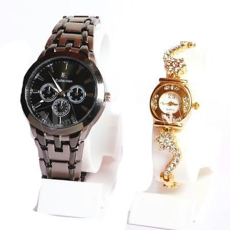 Couple wrist watch Set at Rs.275