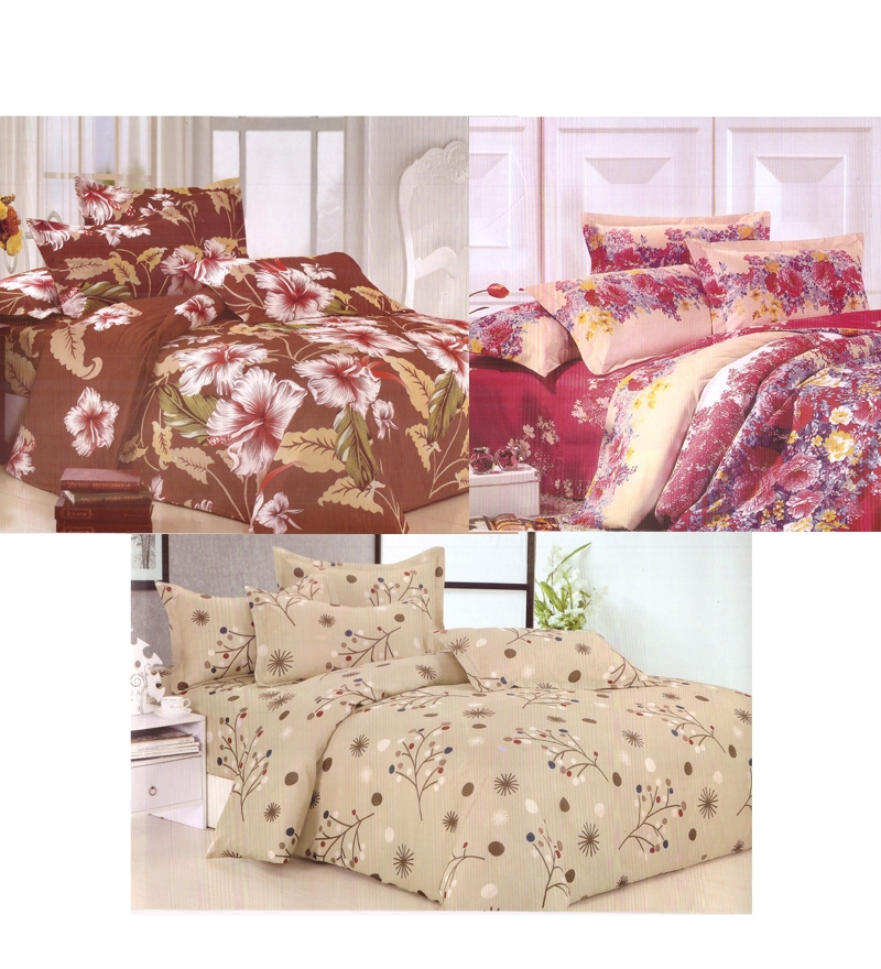 A-Velum 3 Printed double Bedsheet at Rs.799