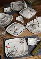 Truhome 32 Pcs Melamine Dinner Set at Rs.2499