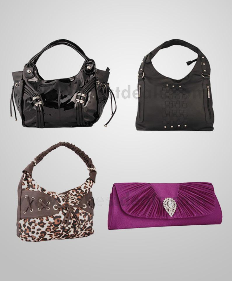Four Ladies Handbags Combo at Rs.2590