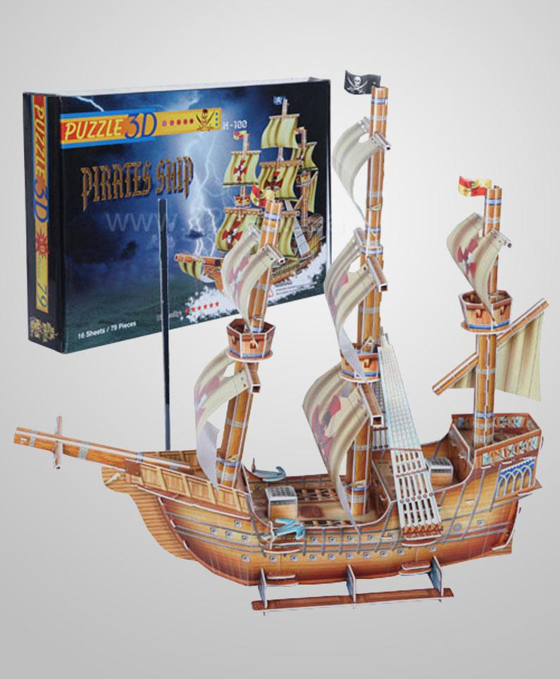 3D Puzzle Pirate Ship at Rs.440