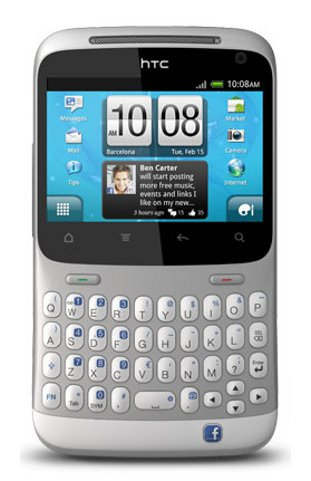 HTC ChaCha at Rs.9189