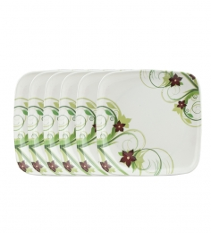 Set of 6 pieces Aura Plates at Rs.399