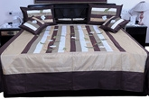 Rajasthani Silk Double Bed Cover at Rs.2777