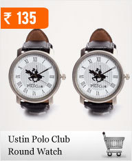 Ustin Polo Wrist Watch Combo at Rs.145