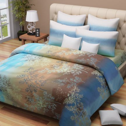 Myra Double Bedsheet & Two Pillow Covers at Rs.758