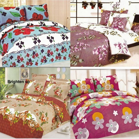 Set of 4pcs Double Bedsheet at Rs.849