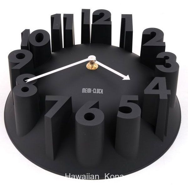 Medi Clock 3d Number Wall Clock at Rs.699