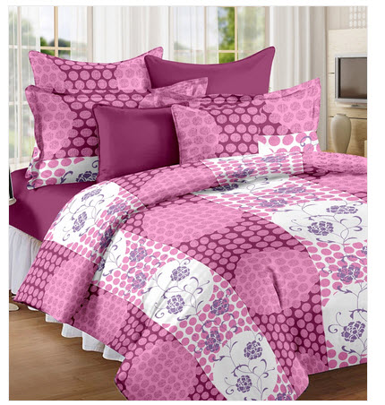 Printed Double Bedsheet at Rs.550