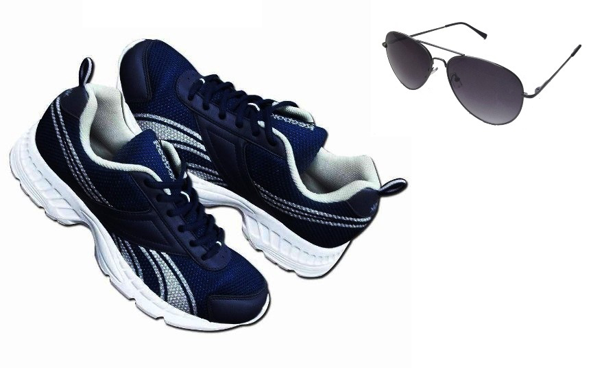 Reebok Shoes & Oysters Sunglasses at Rs.1999