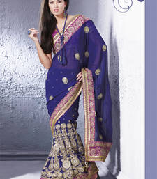 Royal lehnga style saree at Rs.5395