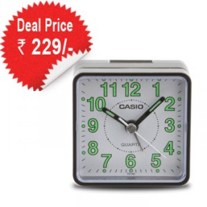 Casio Alarm Clock at Rs.229