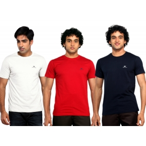 Montecarlo 3 piece combo pack of Men's t-shirts in just Rs.697