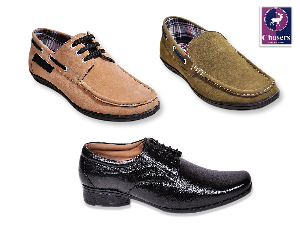 Pack of 3 Shoes at Rs.999