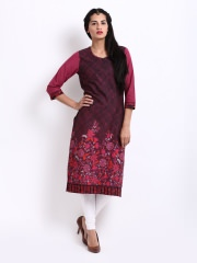 Biba Printed Kurta at Rs.674