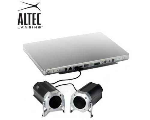 Altec lansing portable orbit stereo usb speaker system at Rs.999