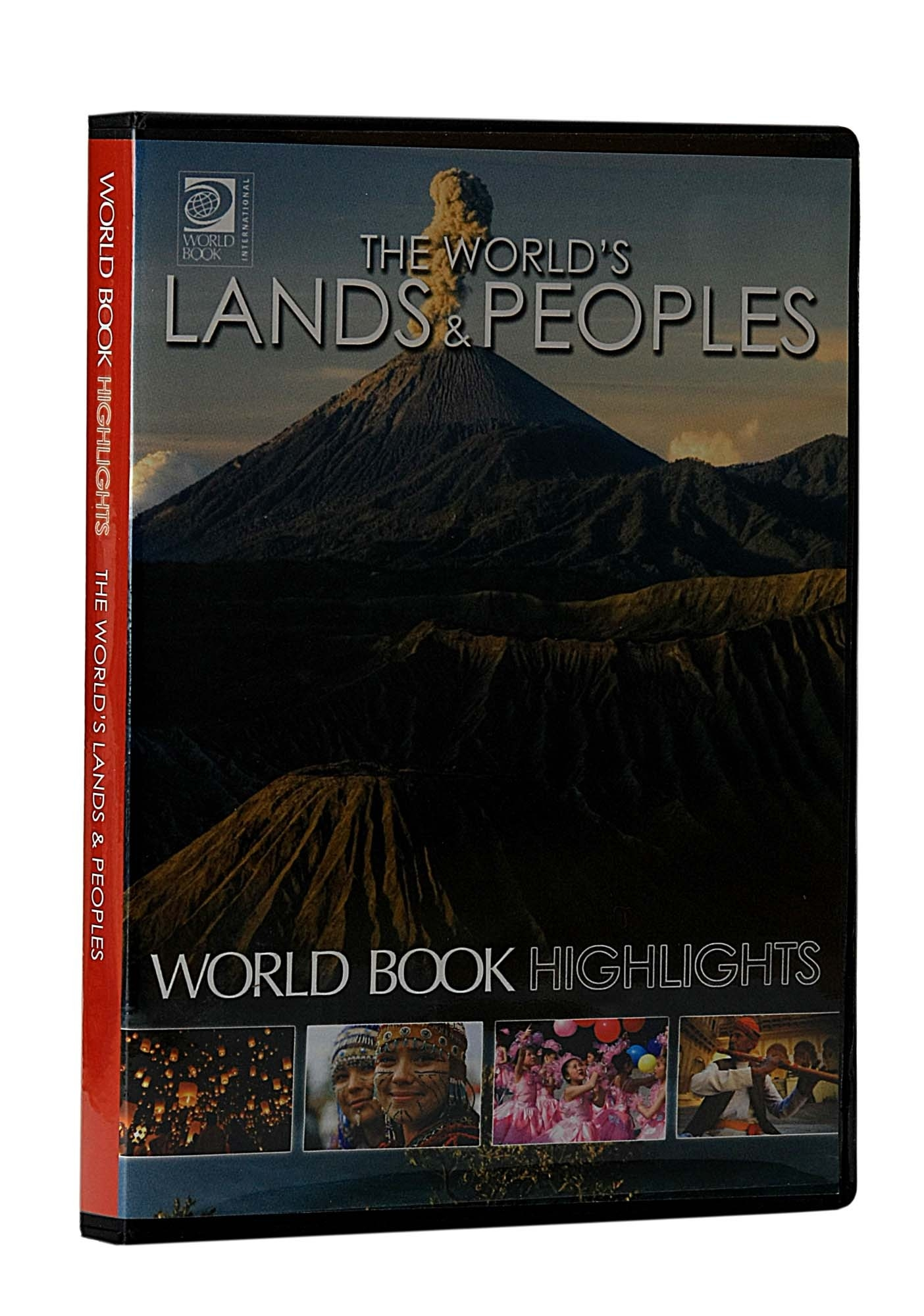 The World's Land & Peoples at Rs. 1