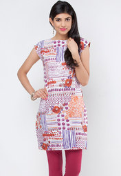 Printed Cotton Kurta at Rs.719