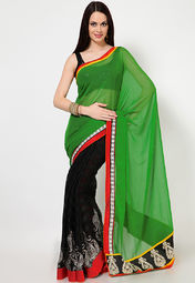Chiffon Brasso Saree at Rs.2239