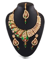 Kundan Necklace Set at Rs.1349