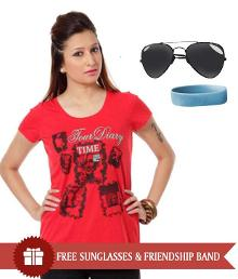 Women's T-Shirts & Freebies at Rs.299