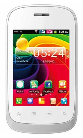 Micromax A52 Mobile at Rs.4999