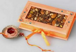 Sugarfree Mithai Box & Rakhi at Rs.349