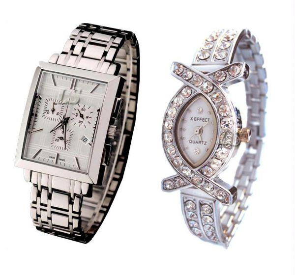 Classy Couple Watches at Rs.299