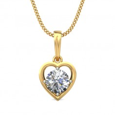 Myraa solitaire pendant at Rs.16450