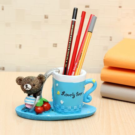 Teddy Bear Pen Stand at Rs.249