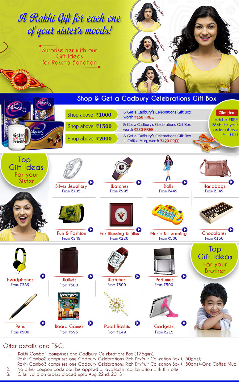 Raksha Bandhan Gift For Your Sister