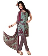 Adah Fashion Suit & Dupatta at Rs.565