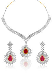 Falak Changeable Necklace Set at Rs.6400