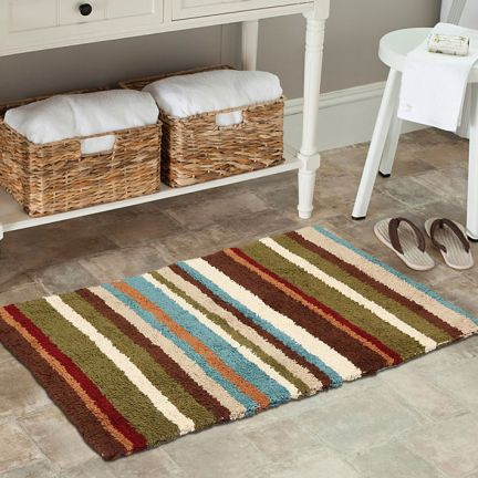 Rocca Stripes Bath Mat at Rs.399