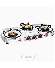 Padmini 3 Burner Flame Gas Stove at Rs.2899