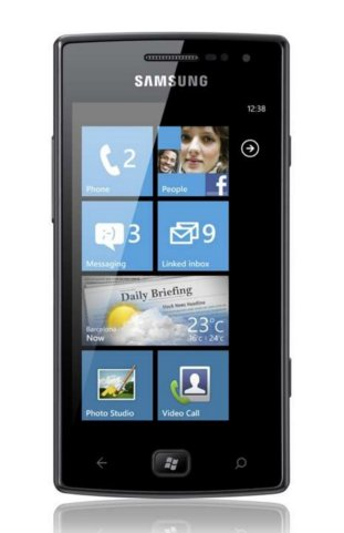 Samsung Omnia at Rs.15200