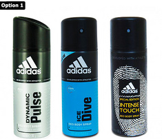 Pack of 3 pcs Adidas Deodorants at Rs.399